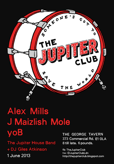 The Jupiter Club - 1 June 2013
