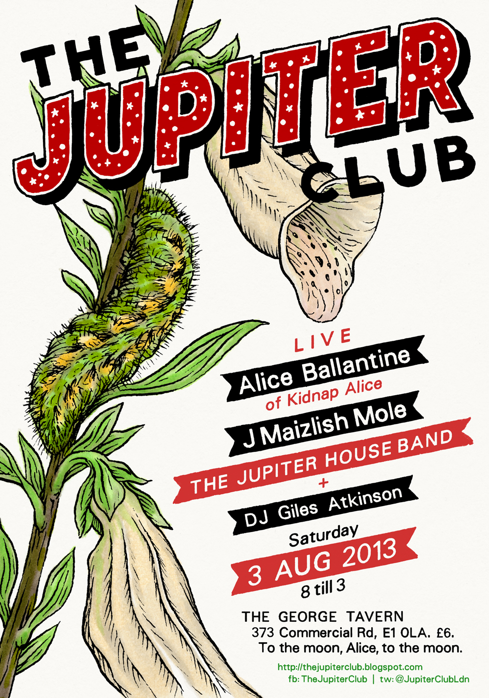 The Jupiter Club - 3 August 2013