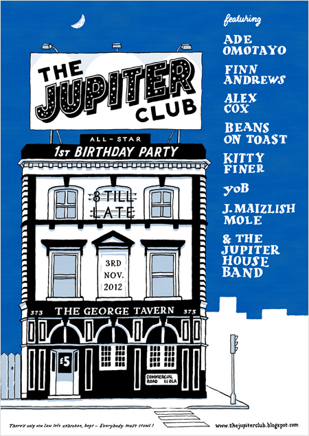 The Jupiter Club - 3 November 2012