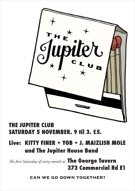The Jupiter Club - 5 November 2011