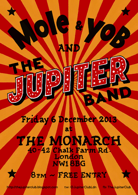 The Jupiter Band at The Monarch - 6 December 2013