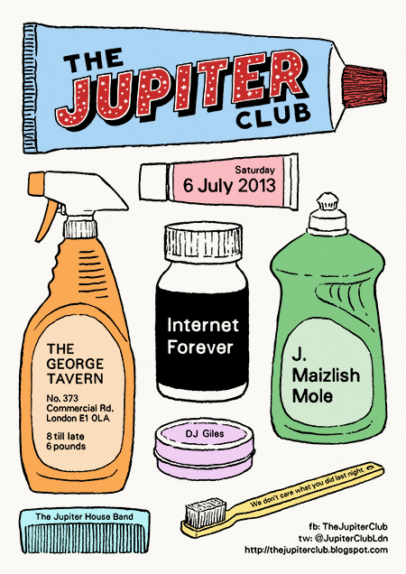 The Jupiter Club - 6 July 2013