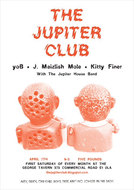 The Jupiter Club - 7 April 2012
