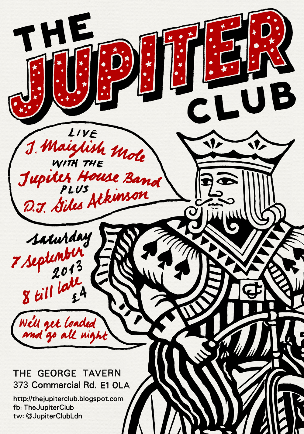 The Jupiter Club - 7 September 2013